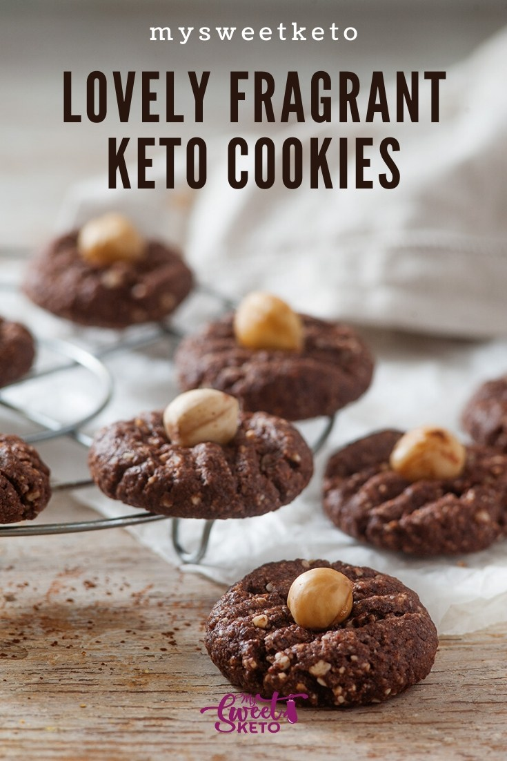 Lovely Fragrant Keto Cookies by MySweetKeto