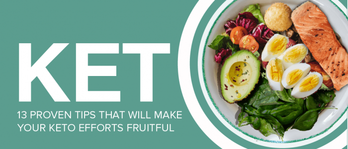 [Infographic] Keto Diet Tips 2020: 13 Proven Tips for a Successful and Sustainable Keto Diet for Beginners