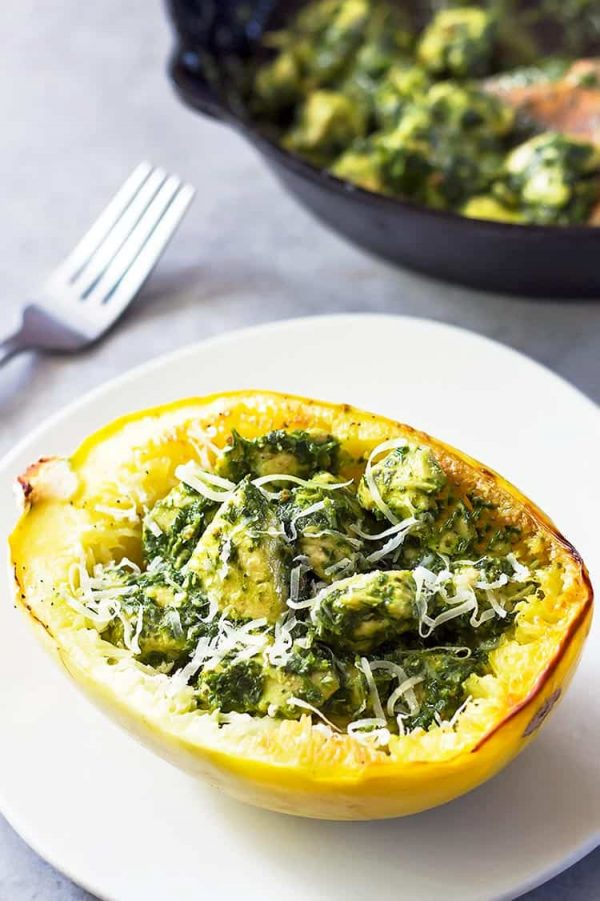 pesto-spaghetti-squash-chicken