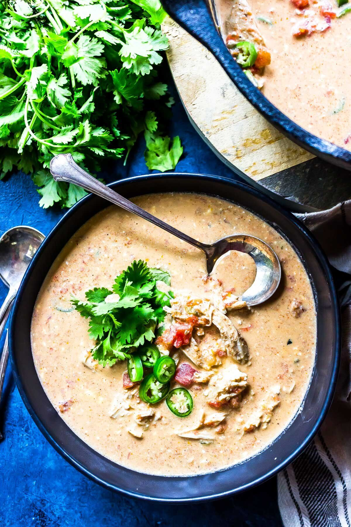 Keto-Queso-Chicken-Soup